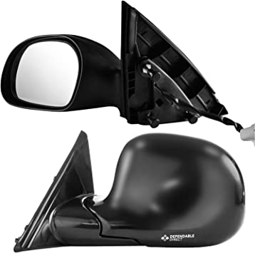 2000-2005 Mercury Sable Driver Side Textured /& Unpainted Cover Side View Mirror for 2000-2007 Ford Taurus
