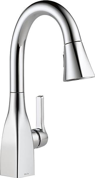 Delta Faucet Mateo Single Handle Bar Prep Kitchen Sink Faucet With
