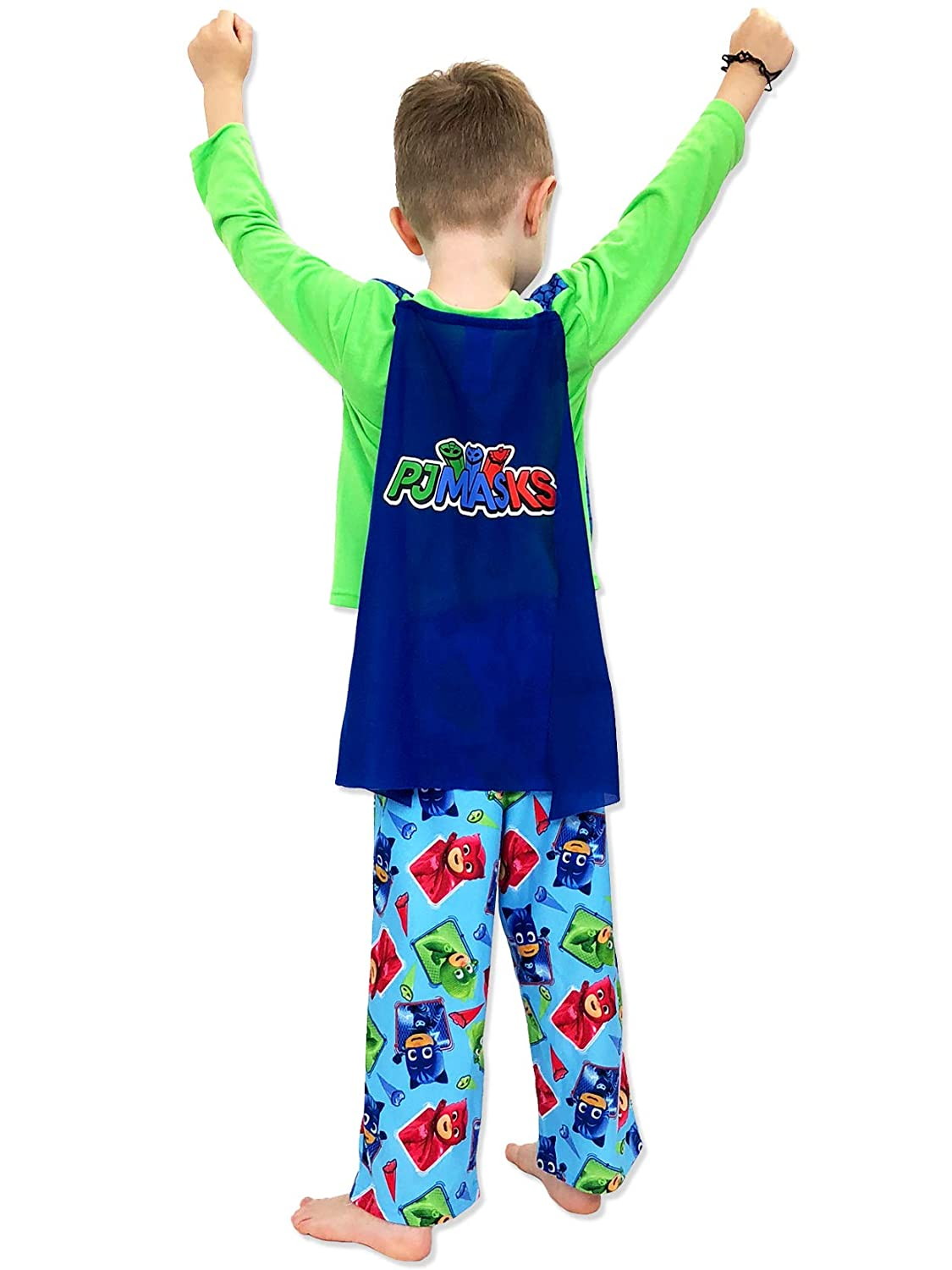 PJ Masks Toddler Boys Long Sleeve Pajamas with Cape manufacturer