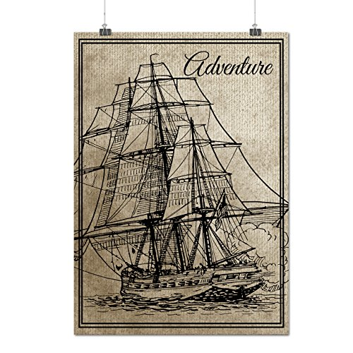 old-classic-sailboat-huge-ship-matte-glossy-poster-a3-12x17-inches-wellcoda
