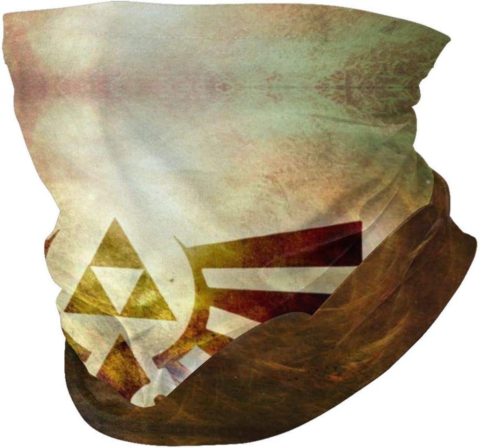 The Legend of Zelda Juego Earth Variety Turbante Lavable Cara Cuello Calentador Bufanda Pasamonta/ñas Unisex Suave A Prueba de Viento Novedad Diadema para Deportes Senderismo