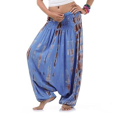 suche nach original neuesten Stil große Vielfalt Modelle Princess of Asia Batik Hippie Hose Haremshose Aladinhose Pumphose für Damen  & Herren 36 38 40 42