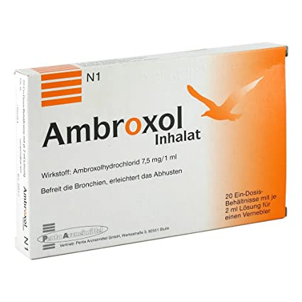Ambroxol Inhalat 20X2 ml