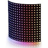 BTF-LIGHTING WS2812B RGB 5050SMD Individually Addressable Digital 16x16 256 Pixels 6.3in x 6.3in LED Matrix Flexible…