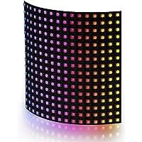 BTF-LIGHTING WS2812B RGB 5050SMD Individually Addressable Digital 16x16 256 Pixels LED Matrix Panel Flexible FPCB Dream…