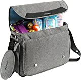 Columbia Departure Point Messenger Diaper Bag, Grey