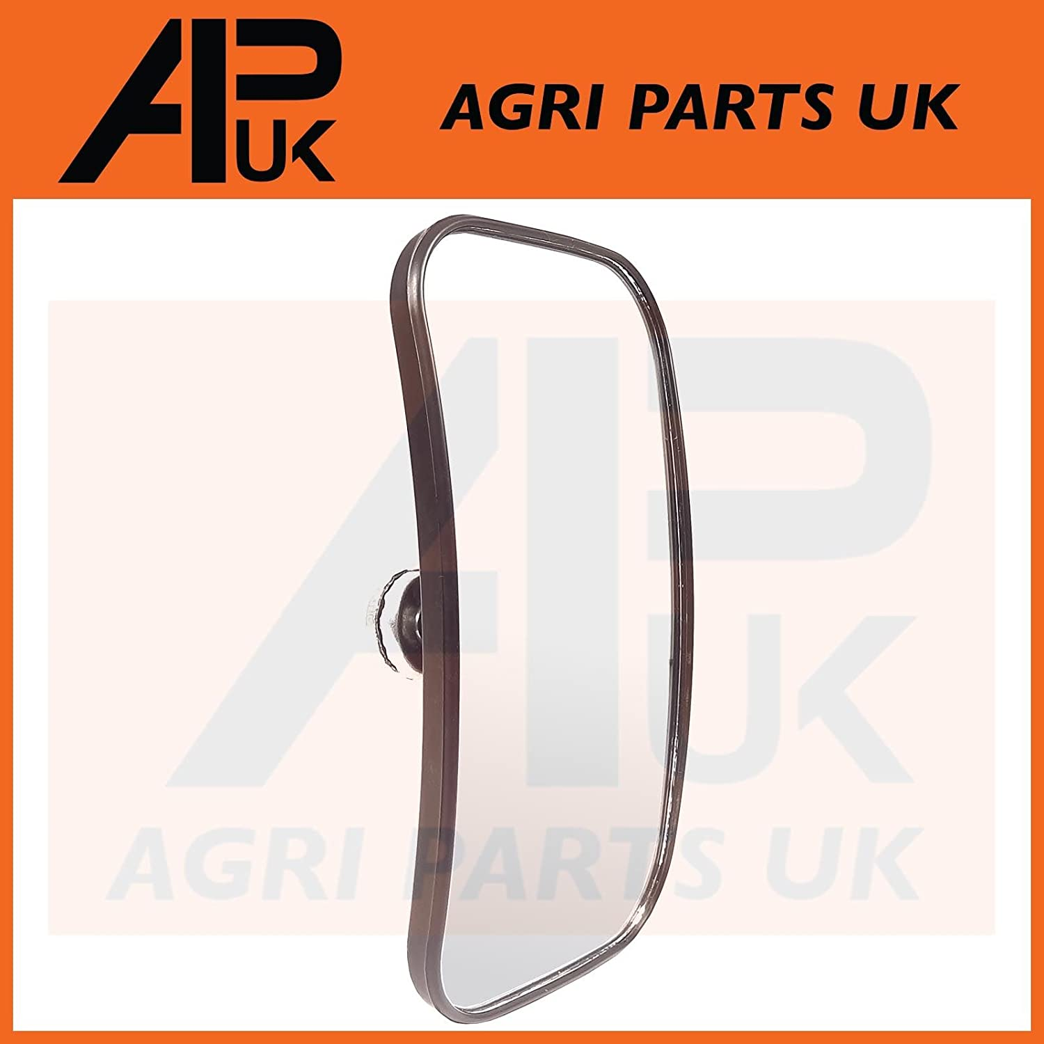 Universal Mirror Head Glass Tractor Lorry Digger Blind Spot JCB Bus Curved