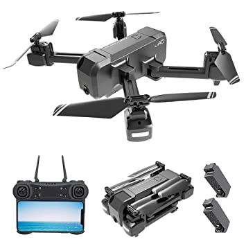Goolsky KF607 WiFi FPV Drone con Cámara 1080P Flujo óptico ...