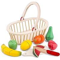 New Classic Toys – 10588 – rollspel för barn – klippset – fruktkorg