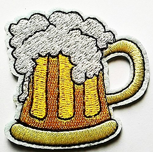 Beer Fantasy beer patch Jacket T-shirt Patch Sew Iron on Embroidered Sign Badge Costume -