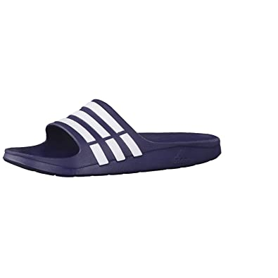 free shipping a38f9 0382f Image Unavailable. Image not available for. Color adidas Mens  Duramo  Slide US9.5 Blue