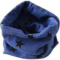 SMARTLADY - Otoño Invierno Bufanda para Bebé Niños Niñas, O Cuello Estrellas Algodón Pañuelos