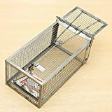 Generic Stainless : Reusable Hamster Cage Mice Rat Control Catch Bait Live Trap Rodent Animal Mouse Protector Free Shipping