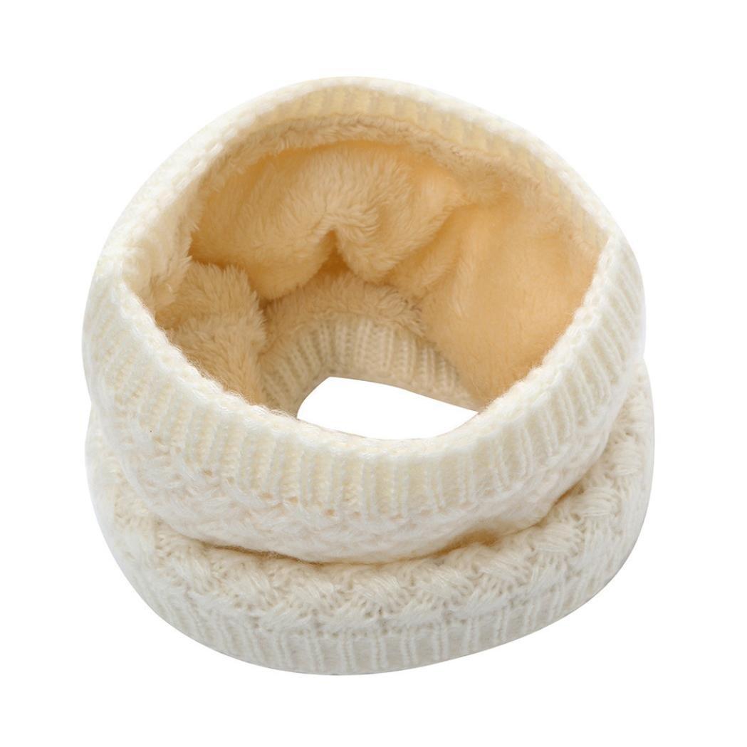 Clearance,Yang-Yi Women Scarf Fashion Man Winter Warm Scarf Wome Knitted Collar Scarf Bufanda Thickness (Beige, one Size) YANG-YI Lingerie