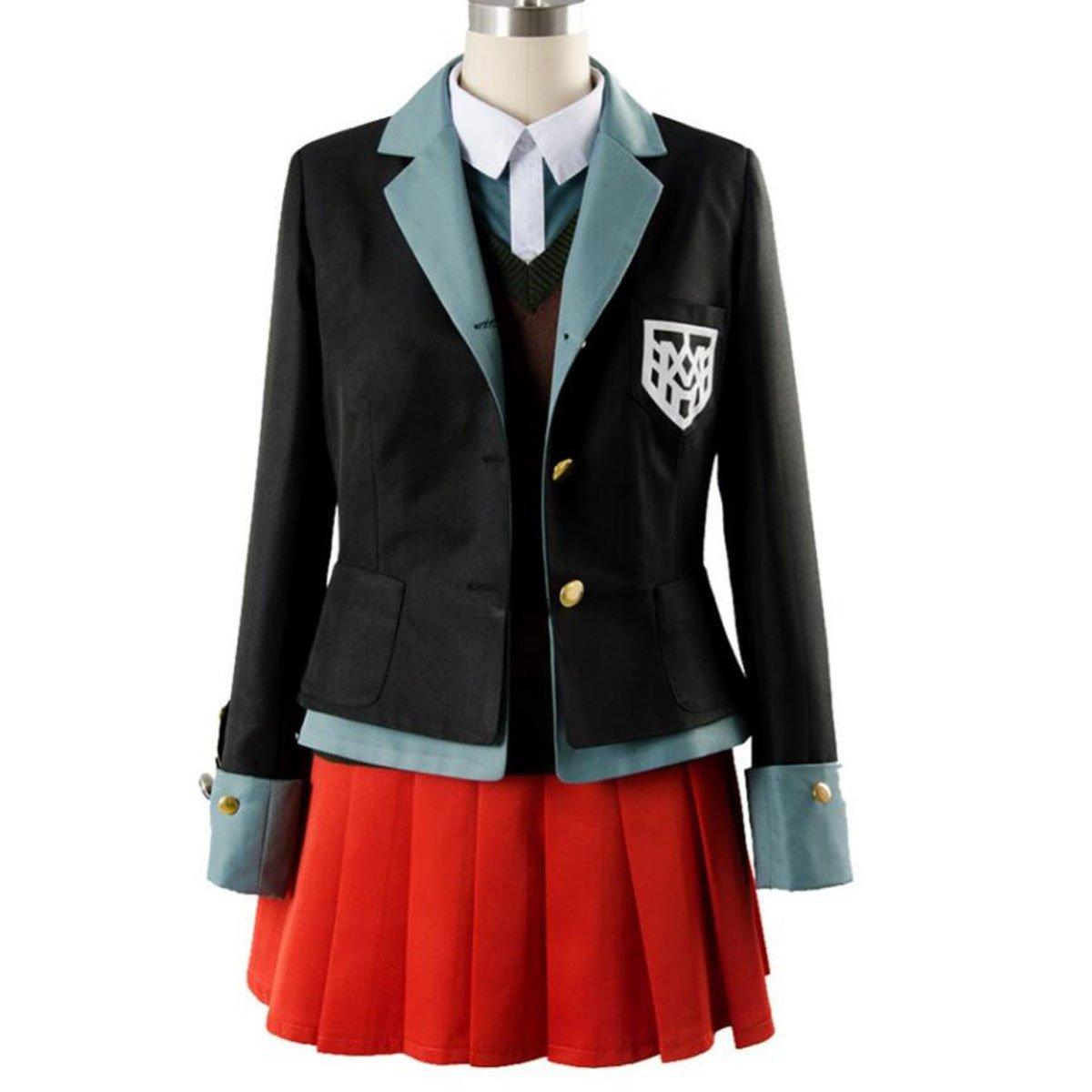 NSOKing Danganronpa V3 Yumeno Himiko The New Bullet Rreaks Costume Outfit (Medium, Black)