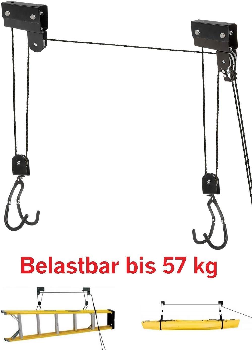 P4B Cric de Levage m/écanique Robuste XL pour Charges jusqu/à 57 kg