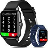 Smartwatch Pulsera Inteligente, DAQI 1.69in Reloj Deportivo Pantalla Táctil Completa, Reloj Inteligente Con Función De Record