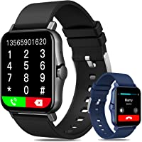 Smartwatch Pulsera Inteligente, DAQI 1.69in Reloj Deportivo Pantalla Táctil Completa, Reloj Inteligente Con Función De…