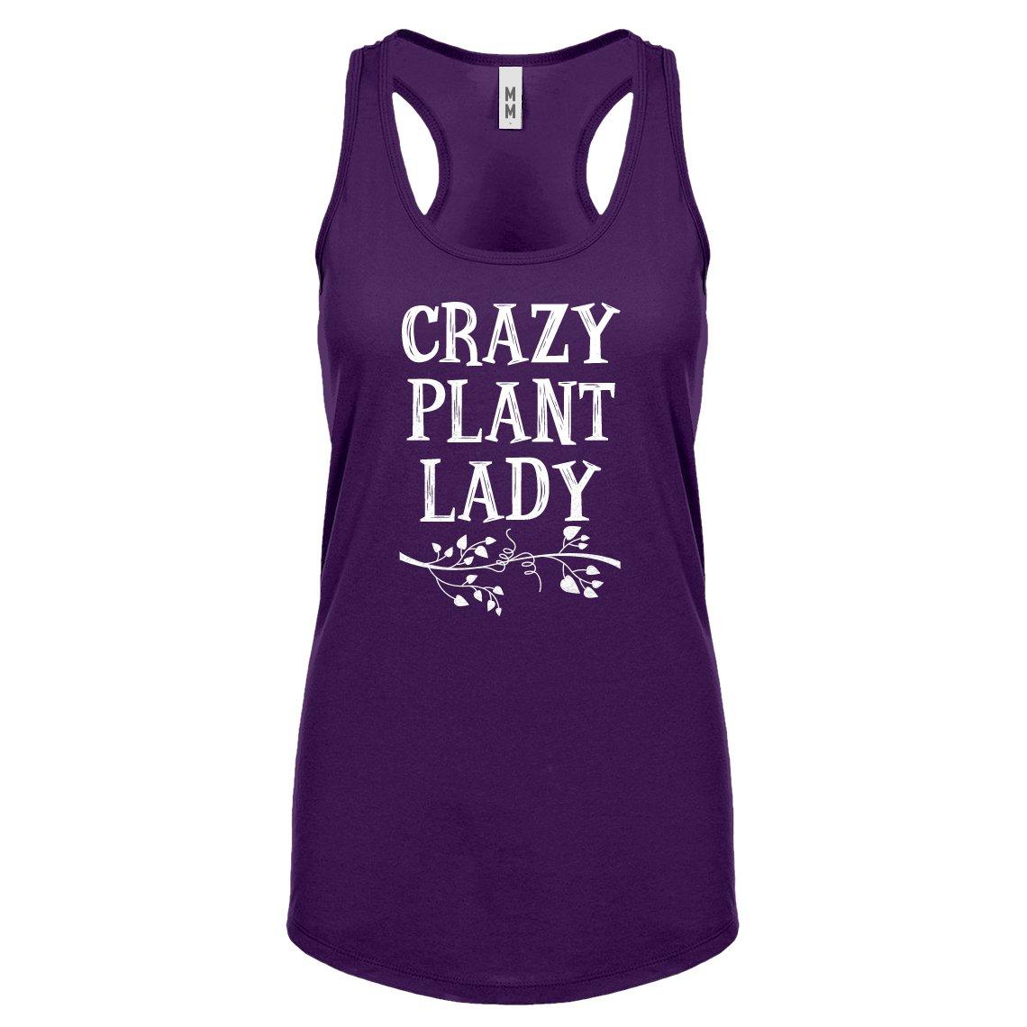 Crazy Plant Lady Racerback Tank Top 1797 Shirts