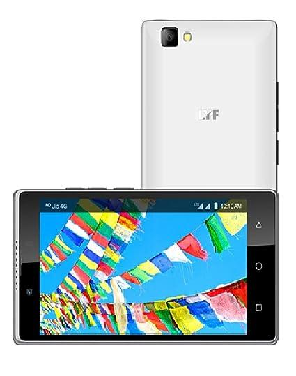 Lyf Wind 7 White LS-5016 2GB RAM 16GB ROM 8MP 5MP