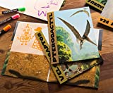 Juvale Pocket File Folders with Dinosaur Design