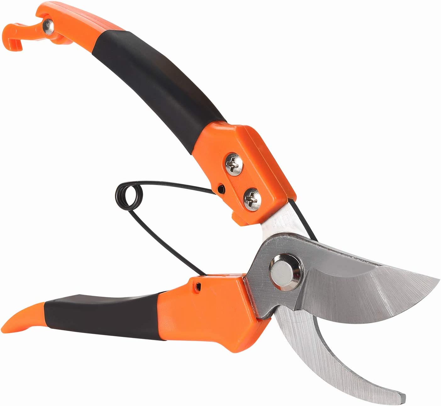 Bypass Pruning Shears Heavy Duty.Hand Bypass Pruners.Gaden Shears.Professional Pruning Shears.Makes Clean Cuts.1 Inch Cutting Capacity.Ergonomically Design Handle.Tree Trimmers Secateurs