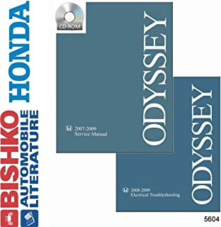 amazon com bishko automotive literature 2011 2012 honda odyssey rh amazon com honda odyssey 2010 service manual maintenance Honda Odyssey Interior
