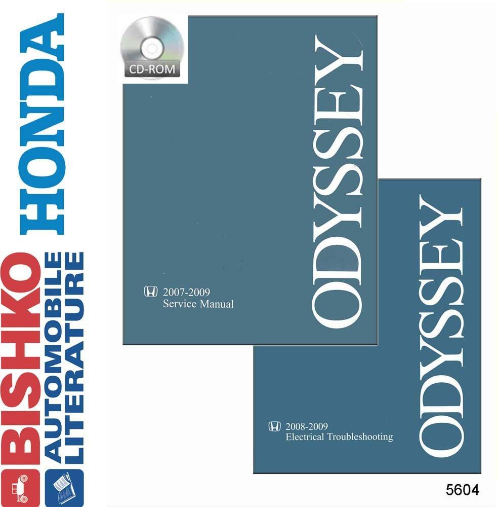 Amazon.com: bishko automotive literature 2007 2008 2009 Honda Odyssey Shop  Service Repair Manual CD W/ETM Engine Wiring: Automotive