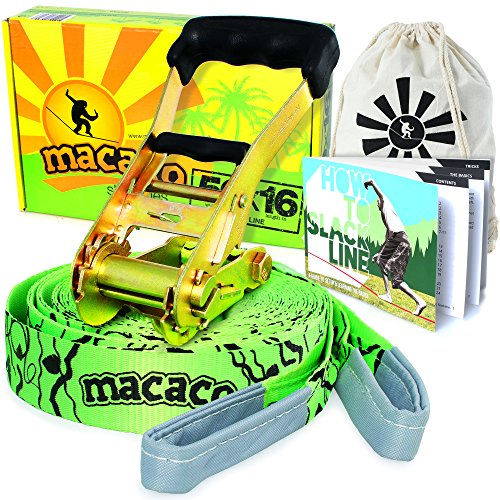 Macaco Slackline Booklet Ratchet Complete product image