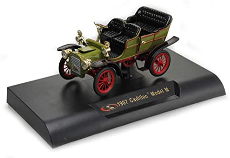 Amazon Com 1907 Cadillac Model M Green Signature Models 32360