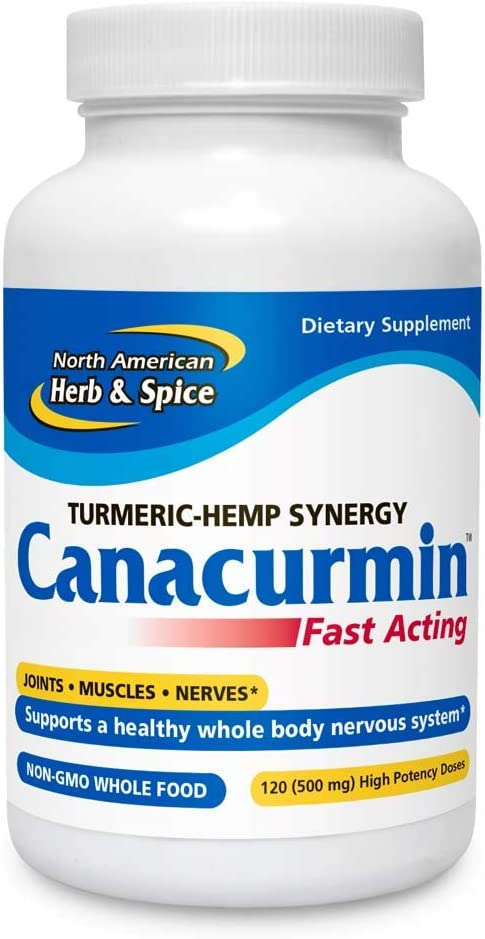 North American Herb & Spice Canacurmin Gels, 120 Count