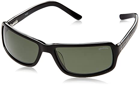Image Rectangular Sunglasses (Black) (IMS336PC1SG) Sunglasses at amazon