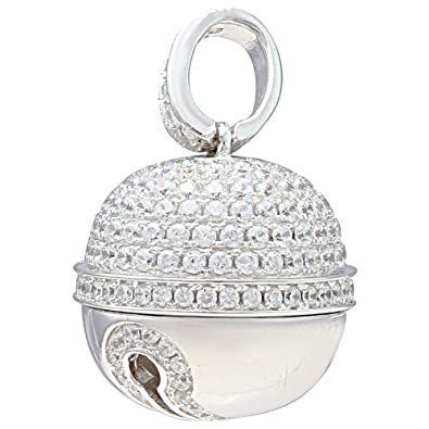 Buy ijuels sterling silver designer cz harmony ball pendant for ijuels sterling silver designer cz harmony ball pendant for women ij15cssp016 aloadofball Images