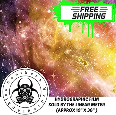 Star Universe SODIAL Hydrographic Film 1 Meter Hydro Dipping Water Transfer Printing