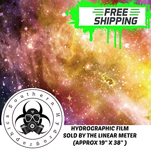 Southern Hydrographics Hydro Dipping Film Star Universe Import