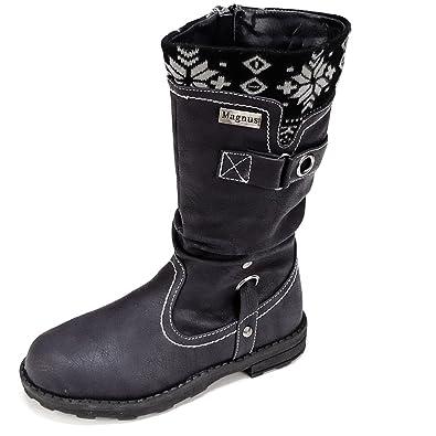 uk availability 5b2e2 74a29 Magnus Kinder Schuhe Boots Winterschuhe (22A) Winterstiefel ...