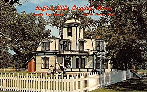 North Platte, Nebraska, NE, USA Postcard Buffalo Bill's Scout's Rest Ranch State Historical Park Unused