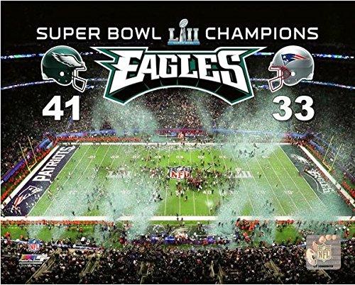 "Philadelphia Eagles Super Bowl LII Stadium Celebration Photo (Size: 8"" x 10"")"