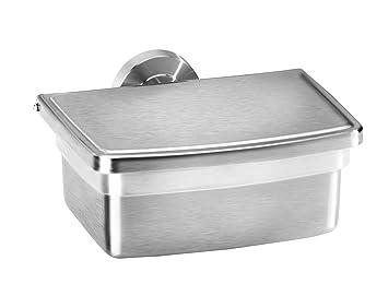 Edelstahl Feuchttücherbox zur Wandmontage oder freistehend - auch ...