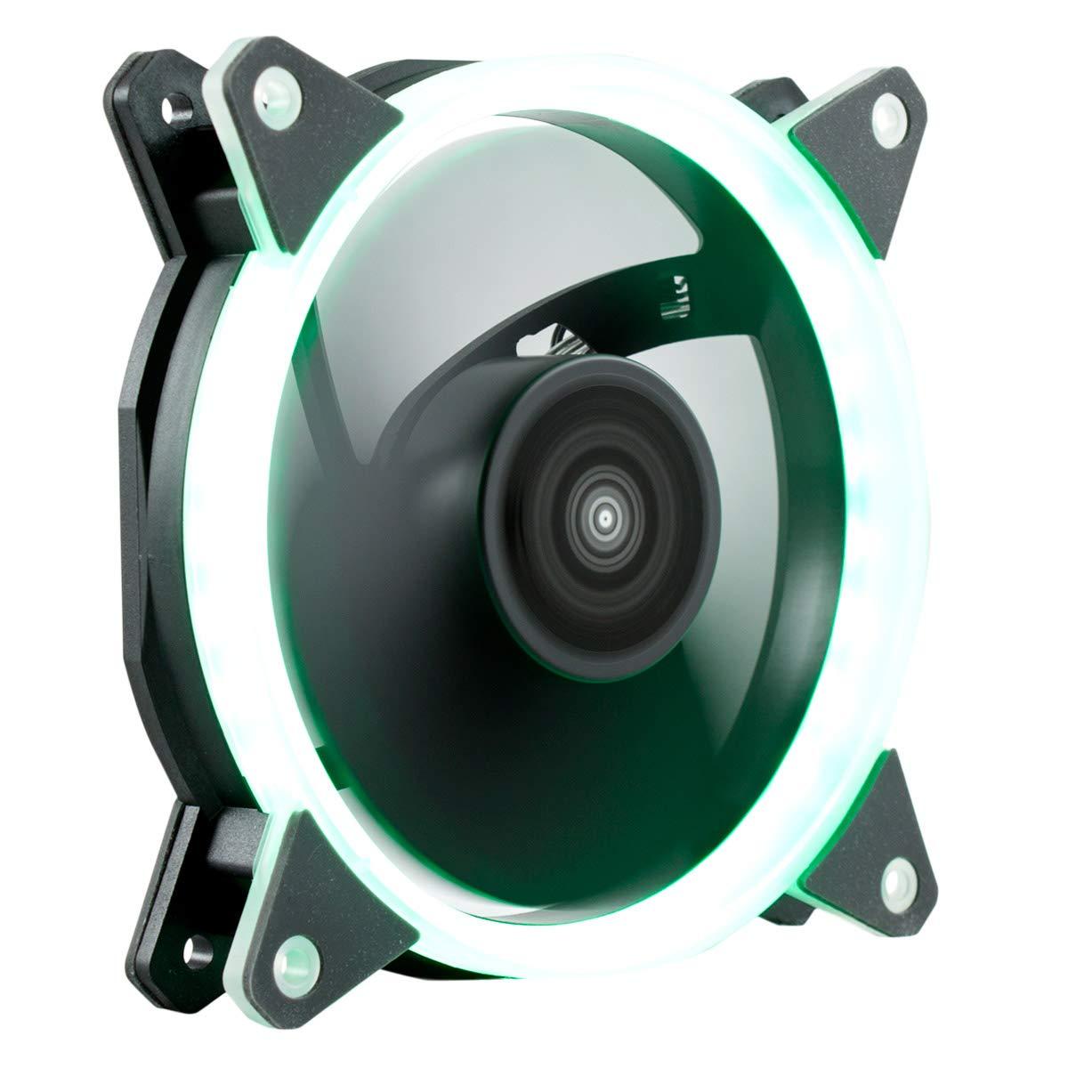 UNYKA GAMING Ventilador Caja Adicional Candy 20 Ring 120mm Verde
