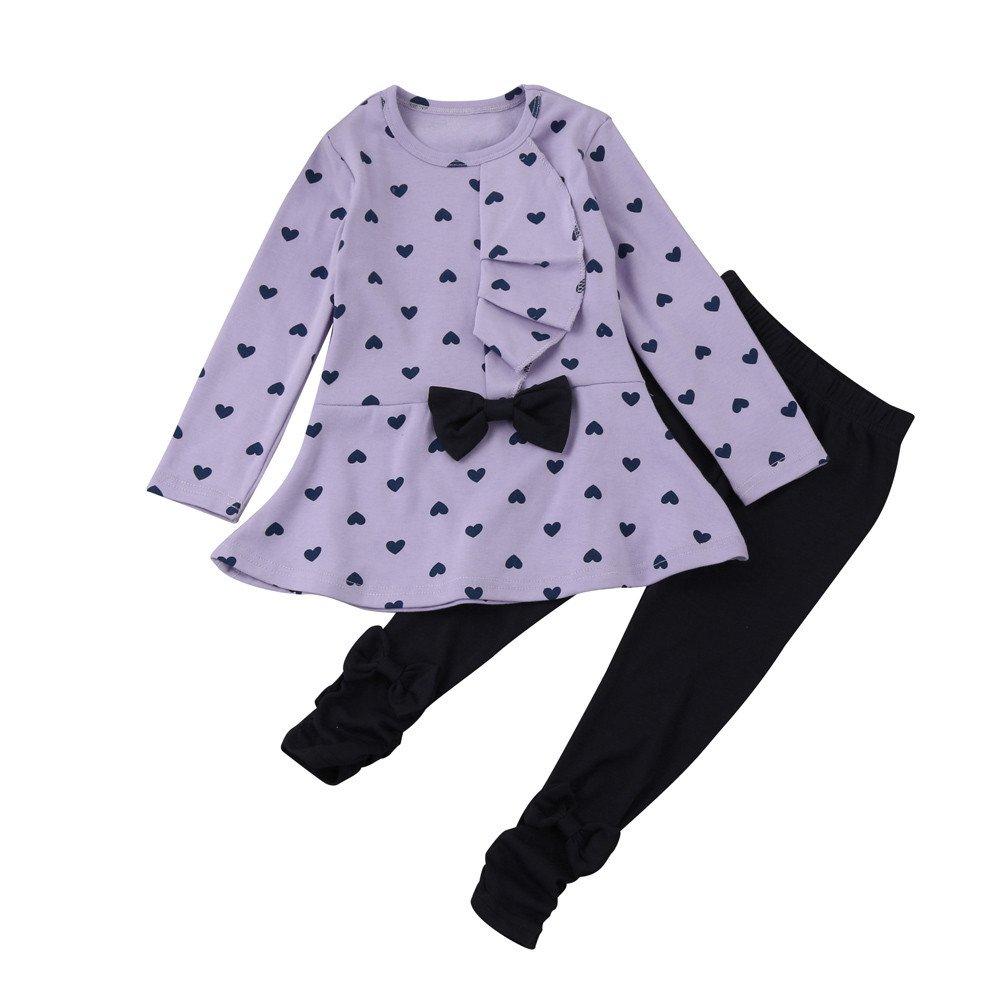 Logobeing Ropa Bebe Ni/ña Verano Camiseta Sin Mangas de Lollipops y Pantalones Cortos Florales Conjunto//2Pcs