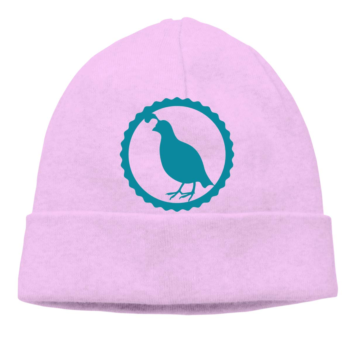 Passover Celebration The Blue Quail Unisex Cuffed Plain Skull Knitted Hat Beanie Cap Men Women Black