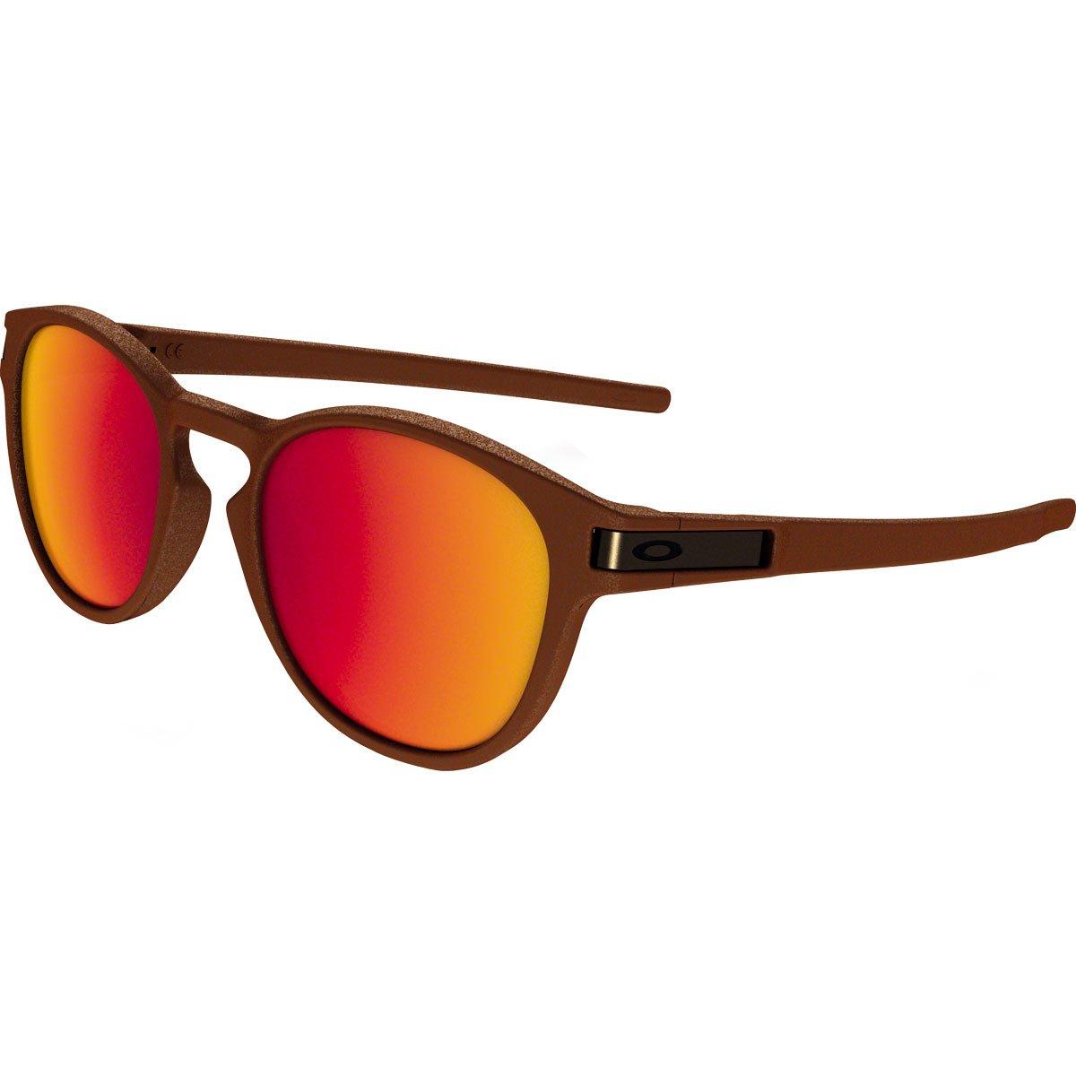 Oakley Adult Latch Sunglasses, Corten/Torch Iridium, One Size