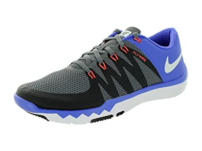 70e592c5f89e Image Unavailable. Image not available for. Colour  Nike Free Trainer 5.0 V6  Laufschuhe dark grey-white-black-persian violet -