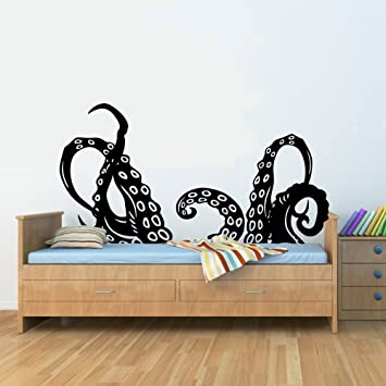 Amazon.Com: Octopus Tentacles Arms Vinyl Wall Art Decal Sticker