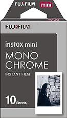 Fujifilm 151010090 Instax Mini - Película Instantánea Monocromática