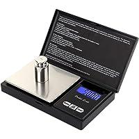 Domary 100g x 0,01g Mini balança portátil para joias de alta precisão LED escala digital de bolso ouro prata diamante…