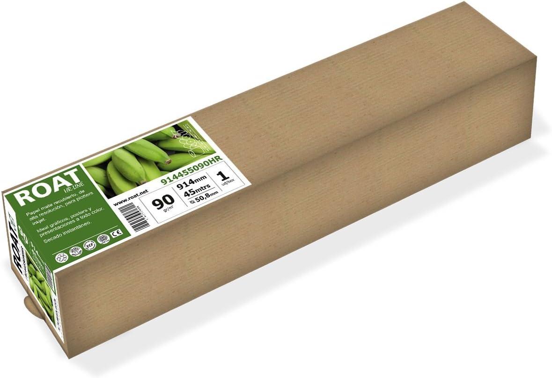 HR 1067455090HR – Rollo de papel inkjet de alta resolución de 90 ...