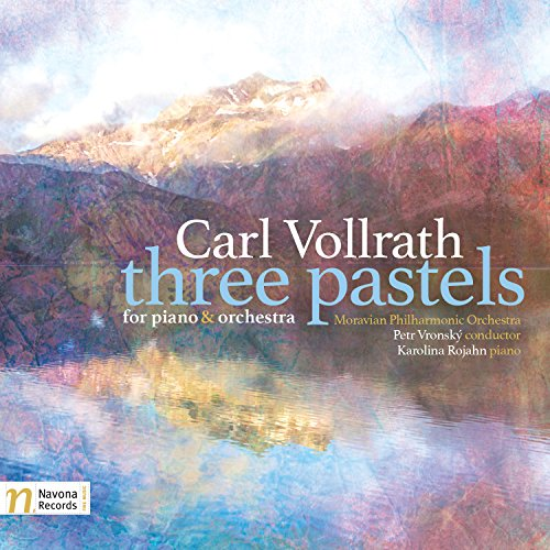 Price comparison product image Carl Vollrath: Three Pastels for Piano & Orchestra