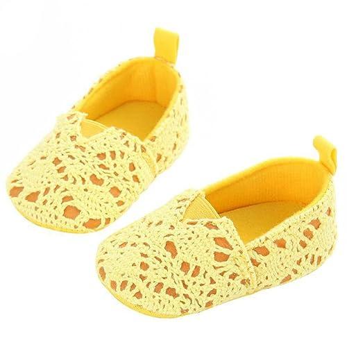 Sanjose81 - Mocasines para niña amarillo amarillo: Amazon.es: Zapatos y complementos